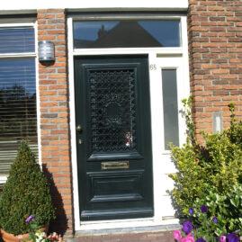 Vervangen gevel/ voordeurkozijn, Haarlem