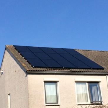 Plaatsen zonnepanelen, Hoorn